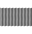 striped background with wavy texture vector image vector image