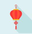 chinese lantern flat design icon vector image