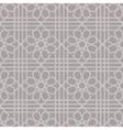 Arabic geometric seamless pattern vector image vector image