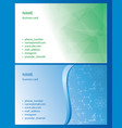 backgrounds with abstractions and science signs vector image vector image