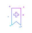 bookmark bookmarks favorite favorites ribbon icon vector image