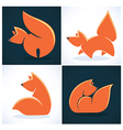 fox collection vector image vector image