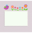Frame with bird vector | Price: 1 Credit (USD $1)