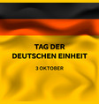 german independence day concept background vector image