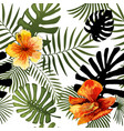 seamless tropical pattern modern bright vector image vector image