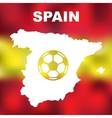 Spanish Abstract Map vector image vector image