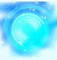background abstract bright blue vector image