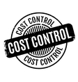 Cost Control rubber stamp vector image vector image