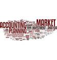 financially word cloud concept vector image vector image