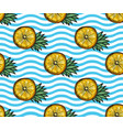 fruits seamless pattern vector image