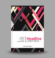 Geometric background template for covers flyers