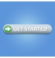 Get Started Button vector image vector image