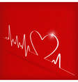 Heart cardiogram background - vector | Price: 1 Credit (USD $1)