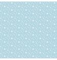 Snowflakes seamless pattern Snow falls background vector image