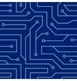 Circuit board seamless pattern vector image