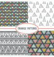 abstract background modern seamless pattern vector image