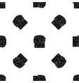 easter cake pattern seamless black vector image vector image