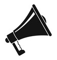 megaphone icon simple style vector image vector image