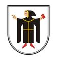 Munchen Coat of Arms vector image vector image