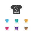 of infant symbol on t-shirt vector image