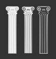 set of symbols column vector image vector image