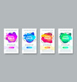 super sale promo design banners vector image vector image