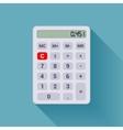 White calculator vector image