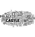 wolvesey castle text word cloud concept vector image vector image