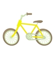 Bicycle icon cartoon style vector image