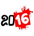 2016 art symbol vector image vector image