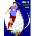 al 0606 soccer 02 vector image vector image