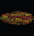 Five tips to calm cranky customers text vector image