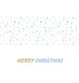 seamless flat style christmas background vector image vector image
