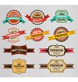Vintage Labels set discount and premium