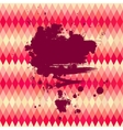 Abstract background Polygon style backdrop with an vector image vector image
