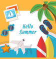 background pictures summer theme vector image vector image