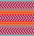 geometric herringbone stripes seamless pattern vector image vector image