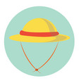 lady hat vector image