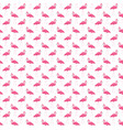 pink flamingo seamless pattern summer tropical vector image vector image