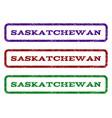 saskatchewan watermark stamp vector image vector image