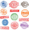 0010 grunge Commercial Stamps vector image
