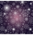 abstract background with snowflake vector image vector image