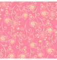 Floral seamless texture Spring flowers pattern vector image vector image