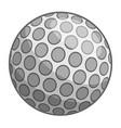 golf ball icon cartoon style vector image vector image