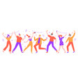 people celebrating happy celebration party vector image