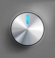 power button eps 10 vector image