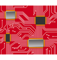 Seamless chip background vector image vector image