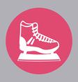 skate design vector image vector image