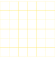 Yellow Grid White Background vector image vector image