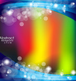 Abstract background with colour lines vector image vector image